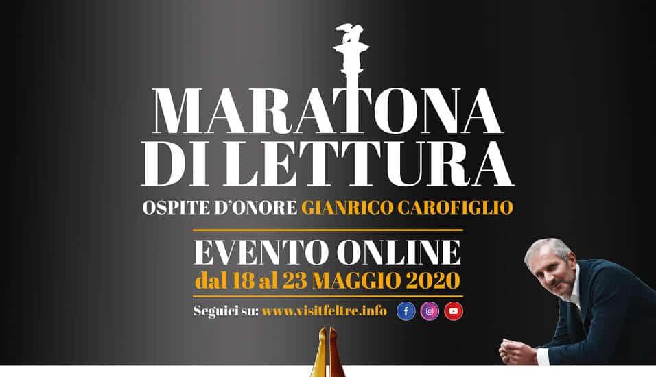 Maratona di Lettura dedicata a Gianrico Carofiglio