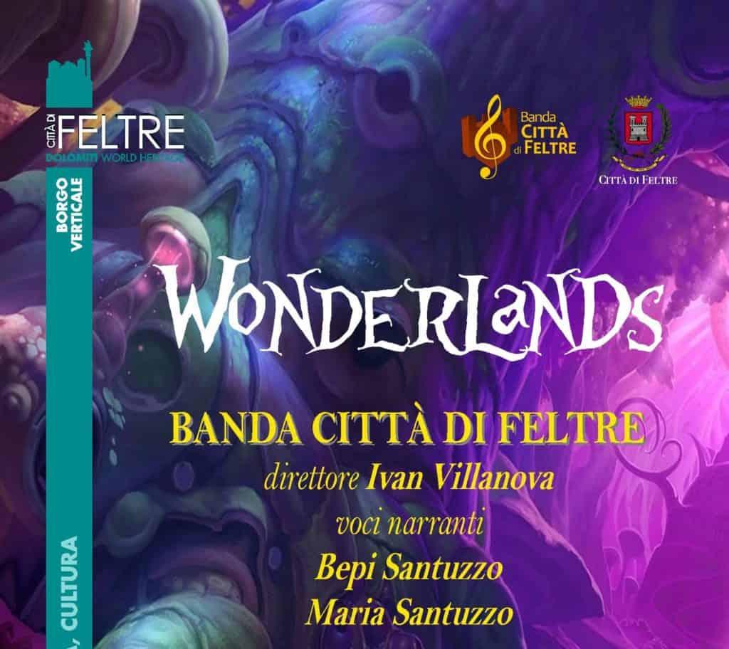 Wonderland locandina tagliata
